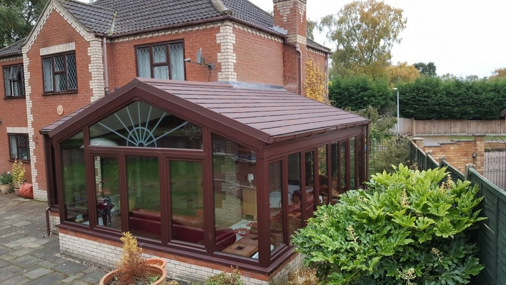 Conservatory cold in winter? Add a tiled roof and make it ...