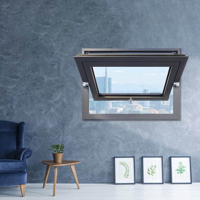 Master Italy introduces Easy Pivot, the design hinges for pivot windows