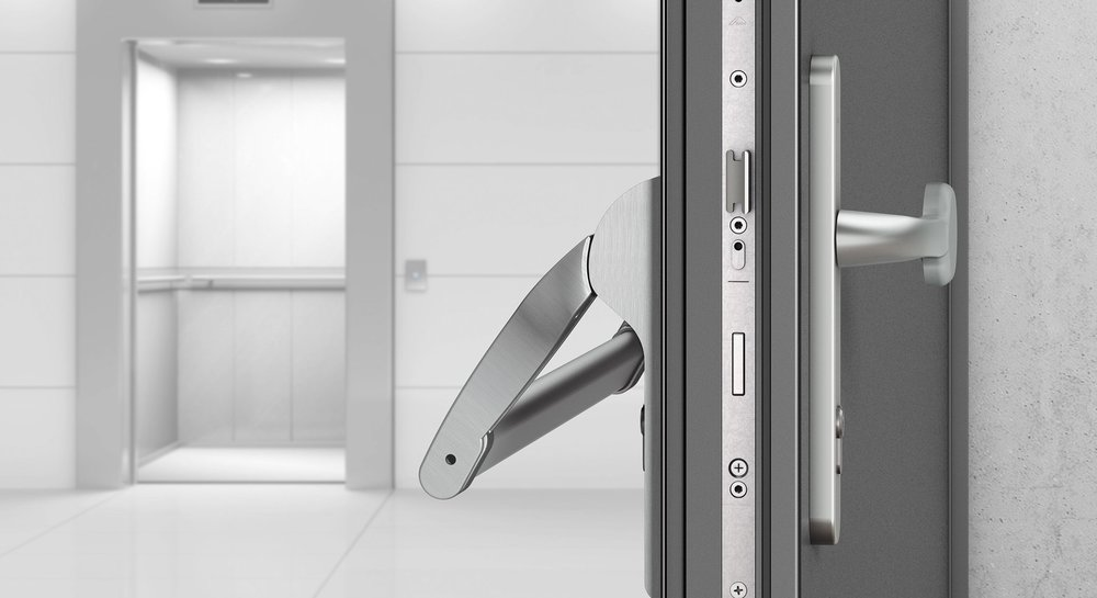 "In mechanical multipoint locking systems from the ""Door"" range, the emphasis is on customer benefits."